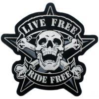 PRIŠIVAČ Live Free Ride Free BA1005